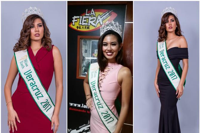 Una gran experiencia ser Miss Earth Veracruz 2017: Astrid Moraga (+FOTOS)