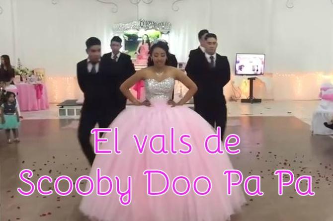 ¿Te imaginas bailando Scooby Doo Pa Pa en el vals de tus XV años? Así se vería y escucharía (+VIDEO)