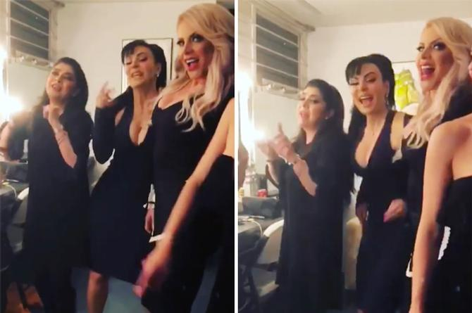 Victoria Ruffo, Lorena Herrera y Maribel Guardia rompen la red con perreo intenso (+VIDEO)