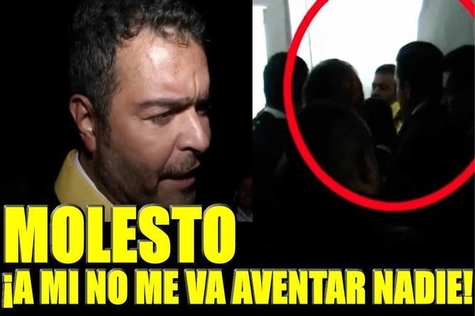 Pablo Montero protagoniza zafarrancho con elementos de seguridad del esposo de Victoria Ruffo (+VIDEO)