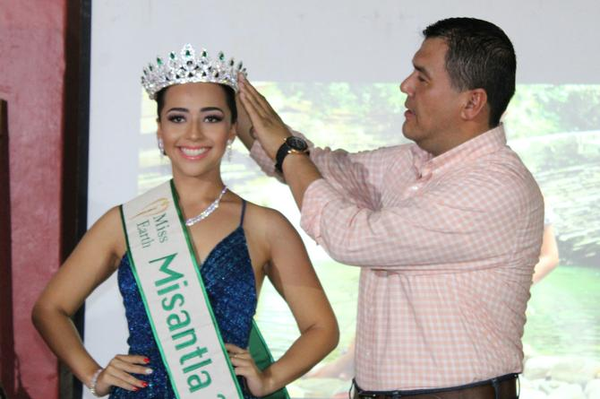 Coronan a Miss Earth Misantla 2019