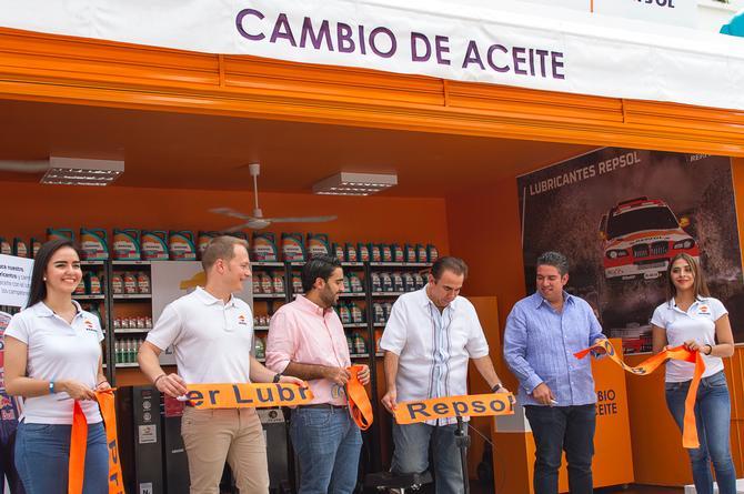 Repsol inaugura su primer Lubricentro en México