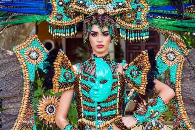 México gana Medalla de Oro en traje típico en Miss Earth International