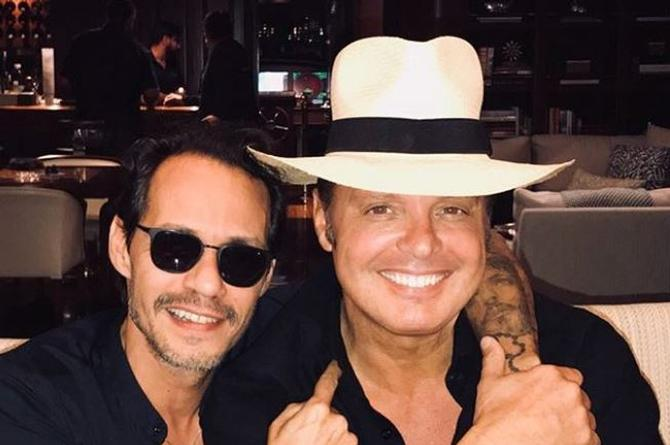 Luis Miguel y Marc Anthony planean lanzar tema en conjunto (+VIDEO)