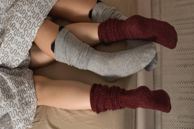 Tener sexo con calcetines te facilita llegar a un orgasmo