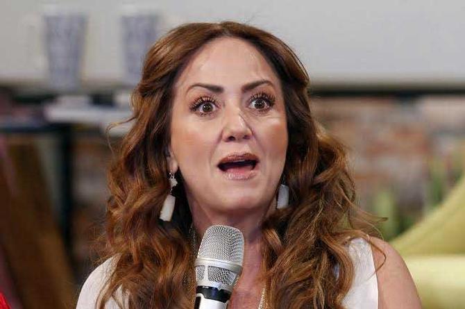 Así reaccionó Andrea Legarreta al cumplido que le hizo Lupillo Rivera