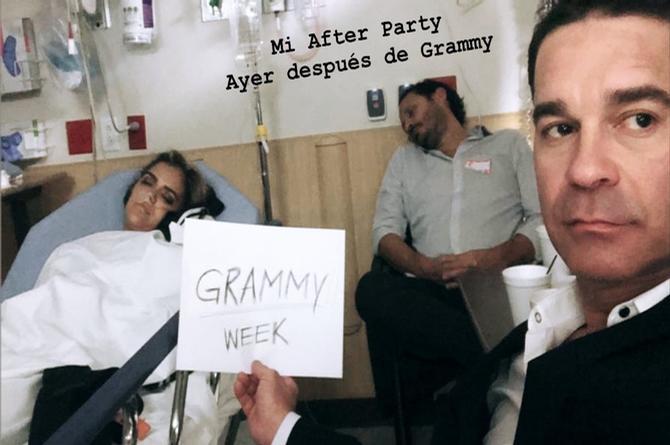 Cantante de reggaetón termina en el hospital tras ganar un Grammy Latino