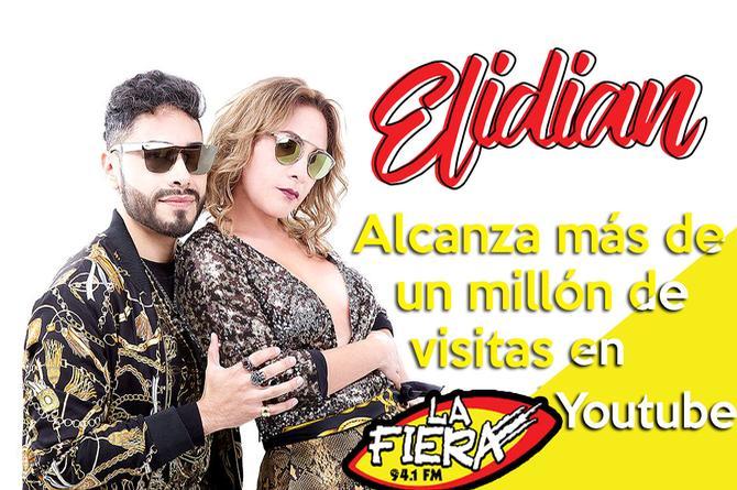 Elidian supera el millón de vistas con 'Sincero amor' (+VIDEO)