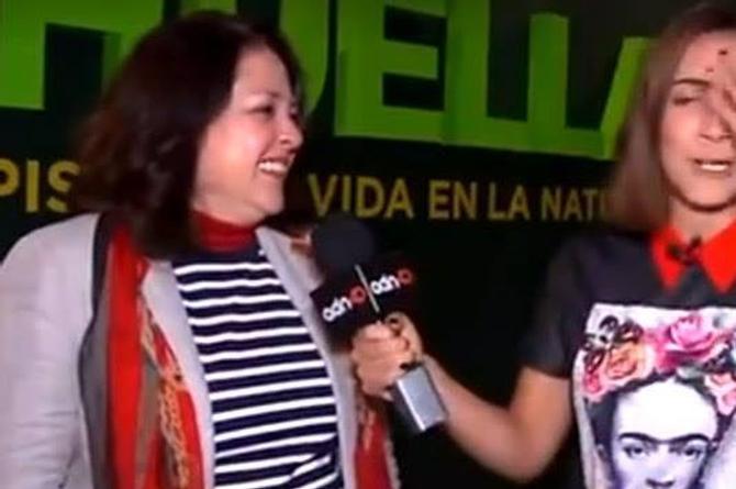 Reportera termina entrevista agradeciendo que le abrieran las piernas (+VIDEO)