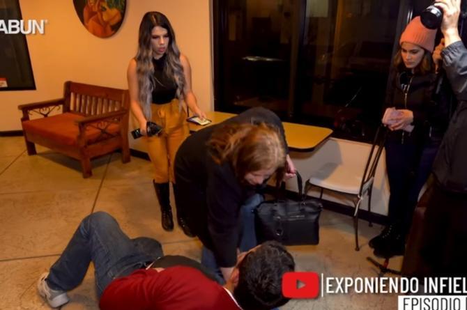 Infiel de 'Badabun' se hace el desmayado mientras la esposa se va #VIDEO