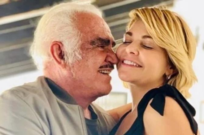Itatí Cantoral confirma dueto con Vicente Fernández #VIDEO