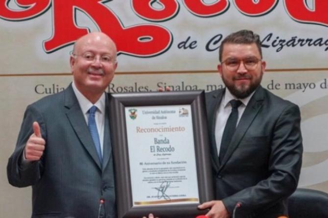La Banda El Recodo recibe reconocimiento por su trayectoria