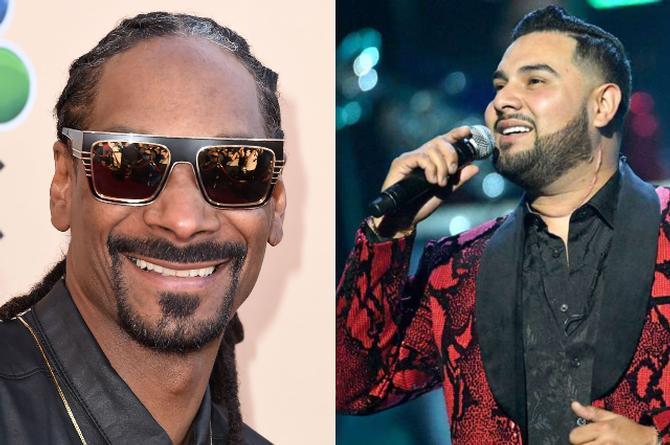 Banda MS podría hacer un dueto con... ¡Snoop Dogg!