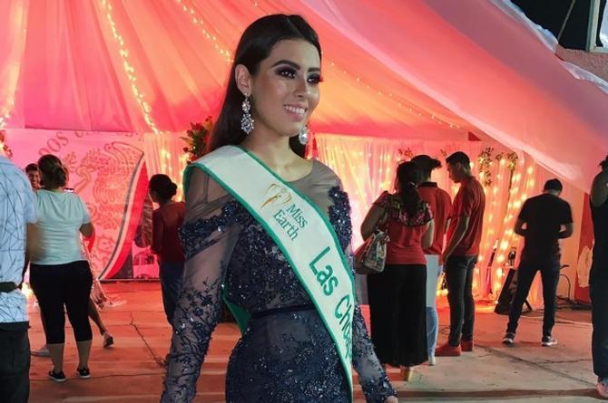 Llega Las Choapas a la gran final de Miss Earth Veracruz 2020