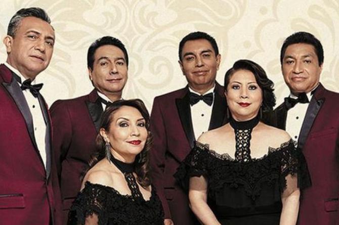 Los Ángeles Azules sorprenden al cantar con Julieta Venegas, Juan Ingaramo y Jay de la Cueva