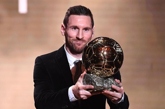 Messi aplasta el récord de 'Balones de Oro' de CR7