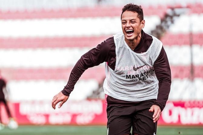 Javier 'Chicharito' Hernández es el nuevo jugador del Galaxy