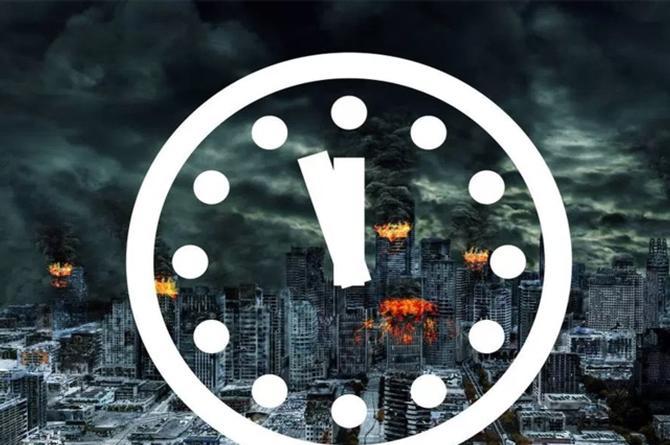 Nos quedan menos de dos minutos para el Apocalipsis
