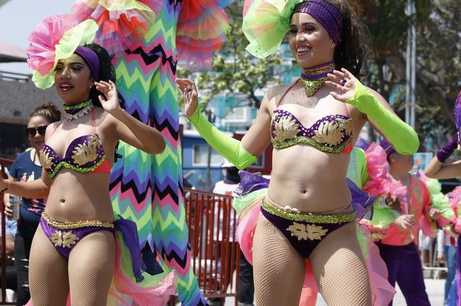 Viene al Carnaval de Veracruz una delegación de Panamá
