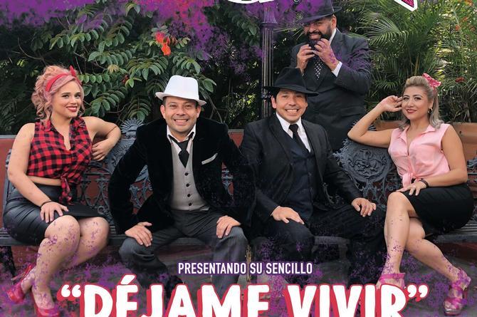 Grupo Tercero A y Rayito Colombiano gozan del éxito de su cover 'Déjame vivir'