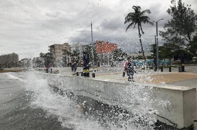 Continuarán los vientos del norte con rachas de 60 km/hora en Veracruz