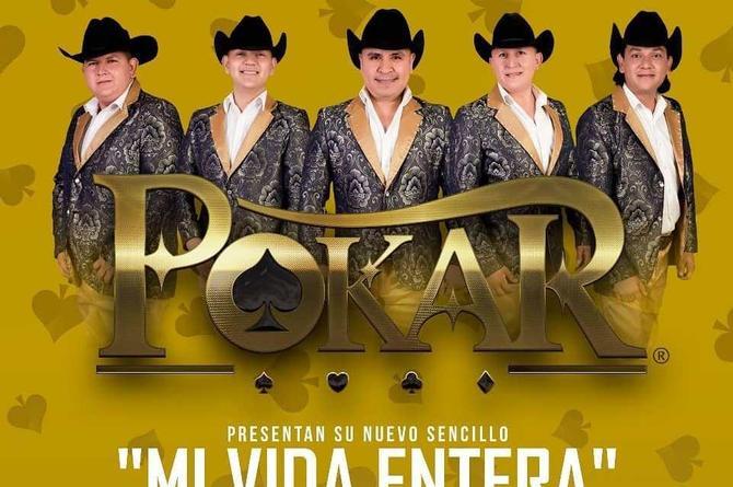 Grupo Pokar comparte video de su nueva canción 'Mi vida entera'