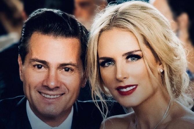 'Tengo COVID y me he sentido fatal', confirma la novia de Peña Nieto