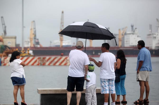Continuarán las lluvias el fin de semana en Veracruz