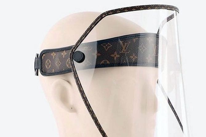 Bara... Bara.. Venden careta protectora Louis Vuitton en 21 mil pesos