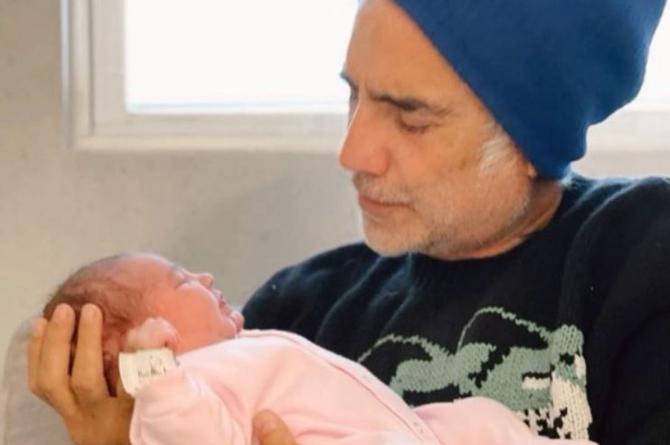 Alejandro Fernández muestra su faceta más tierna y comparte las primera fotos con su nieta