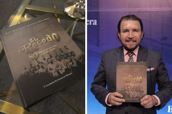 Plasman la historia de Banda El Recodo en un libro